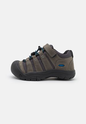 NEWPORT SHOE UNISEX - Zapatillas de senderismo - steel grey/brilliant blue