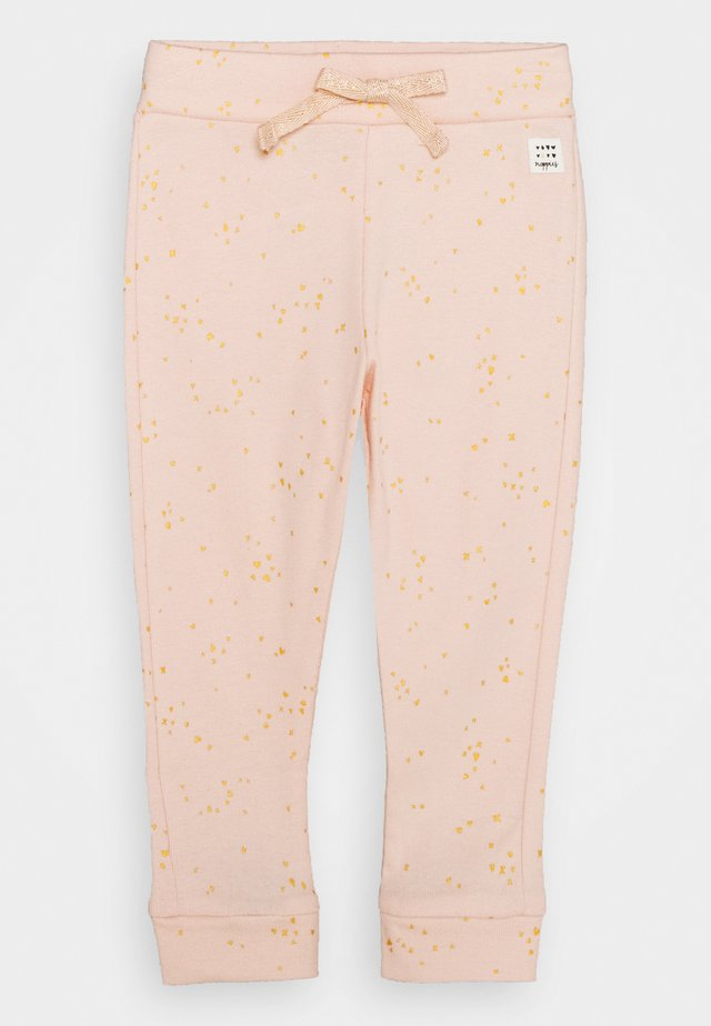 SLIM FIT PANTS GARIES - Tygbyxor - pale dogwood