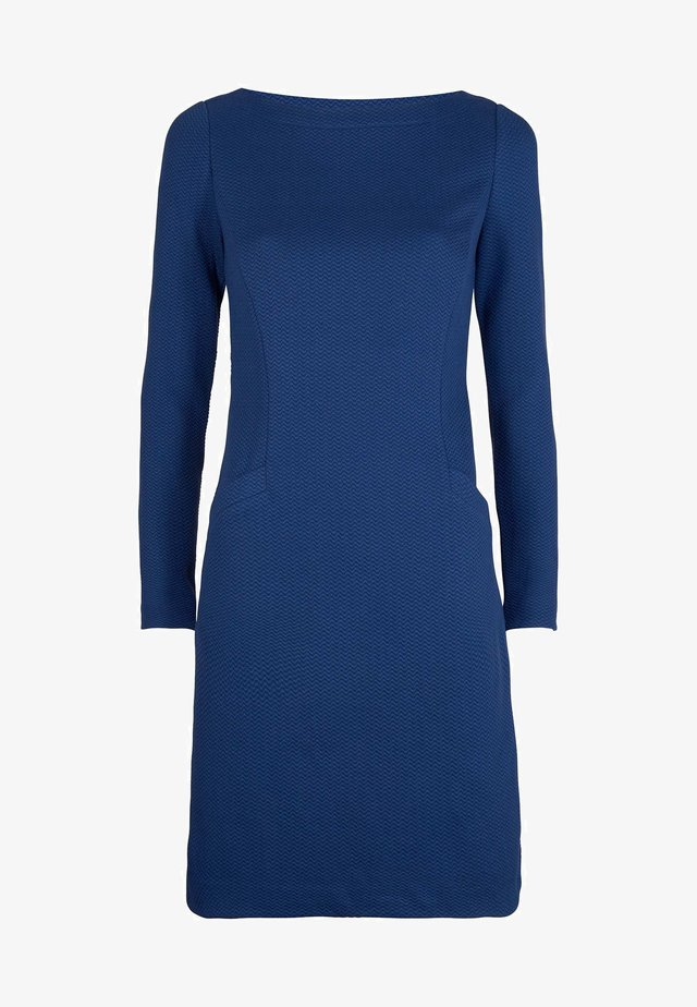 INGRID - Shift dress - tiefblau