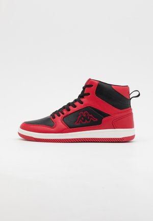 LINEUP UNISEX - Sports shoes - red/black