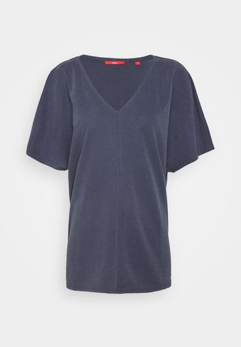Basic T-shirt - dark steel blue