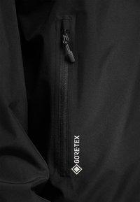 Haglöfs - BETULA GTX JACKET - Hardshell jacket - true black - 3