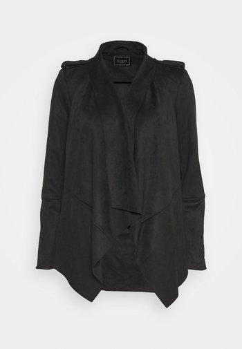 SOFIA JACKET - Faux leather jacket - jet black