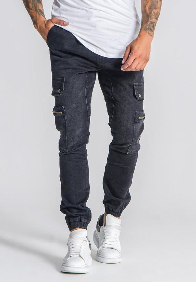 Pantalon cargo - dark grey