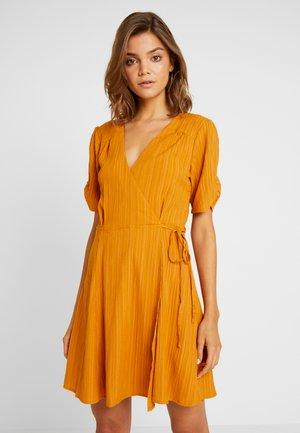 SHADY DAYS TEA DRESS - Day dress - mustard solid