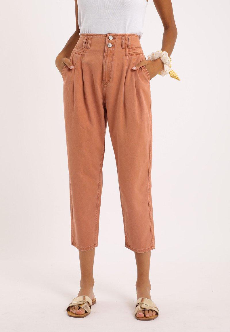 Pimkie - Straight leg jeans - rot