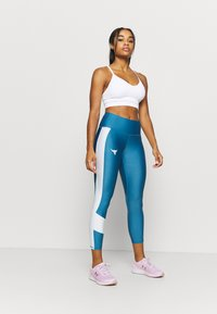 Under Armour - PROJECT ROCK ANKLE CROP - Tights - acadia - 1