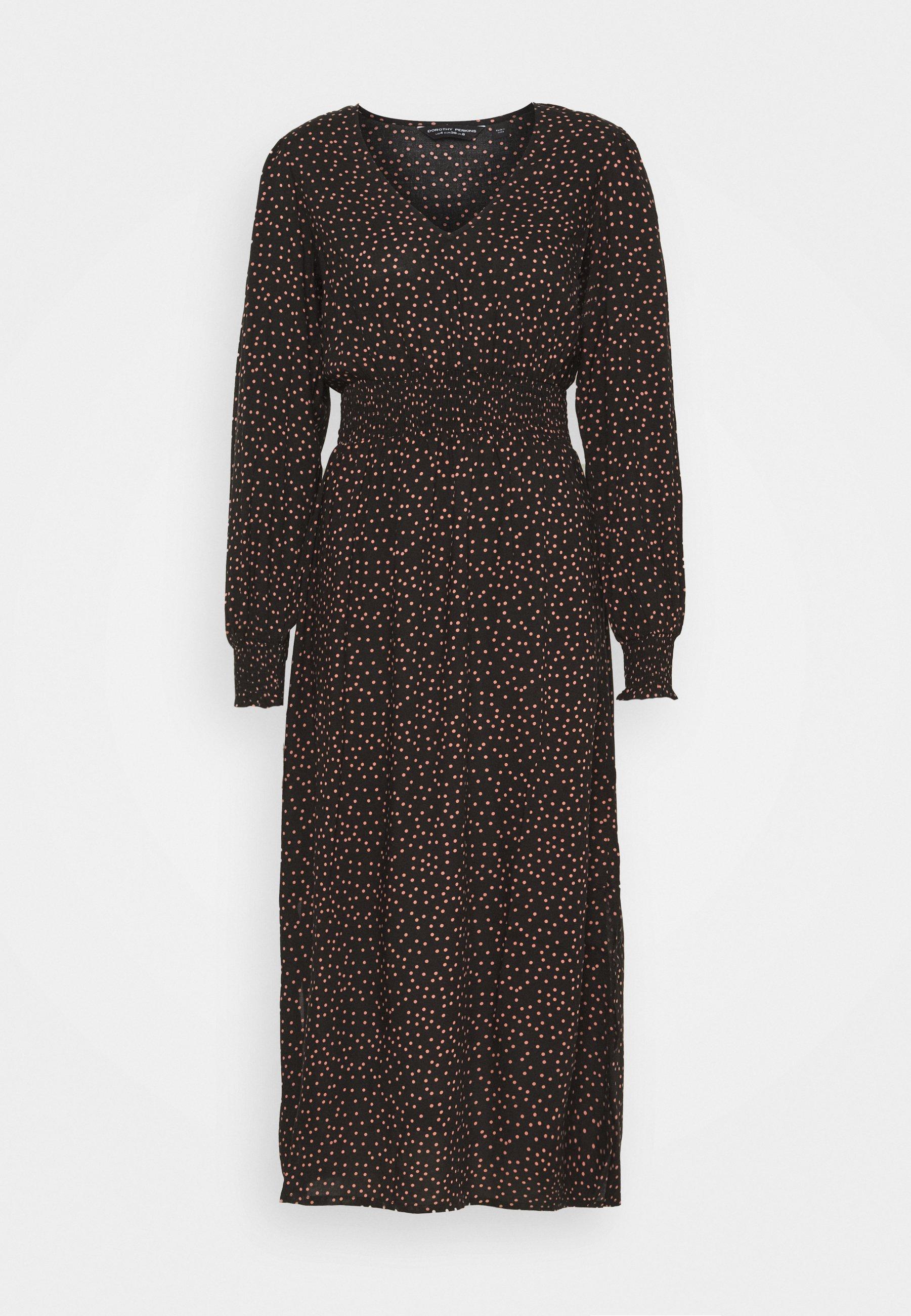 Women FIT & FLARE SHEERED DRESS - Day dress