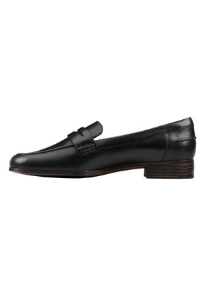 Loaferit/pistokkaat - black leather