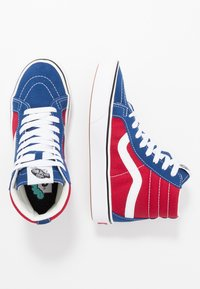 Vans - High-top trainers - true blue/chili pepper - 1