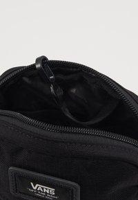 Vans - BAIL SHOULDER BAG - Across body bag - black - 5