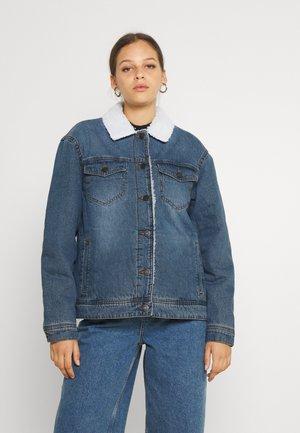 NMOLE JACKET - Denim jacket - blue denim