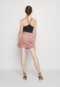 JDY - KIRA LIFE - Pencil skirt - woodrose - 2