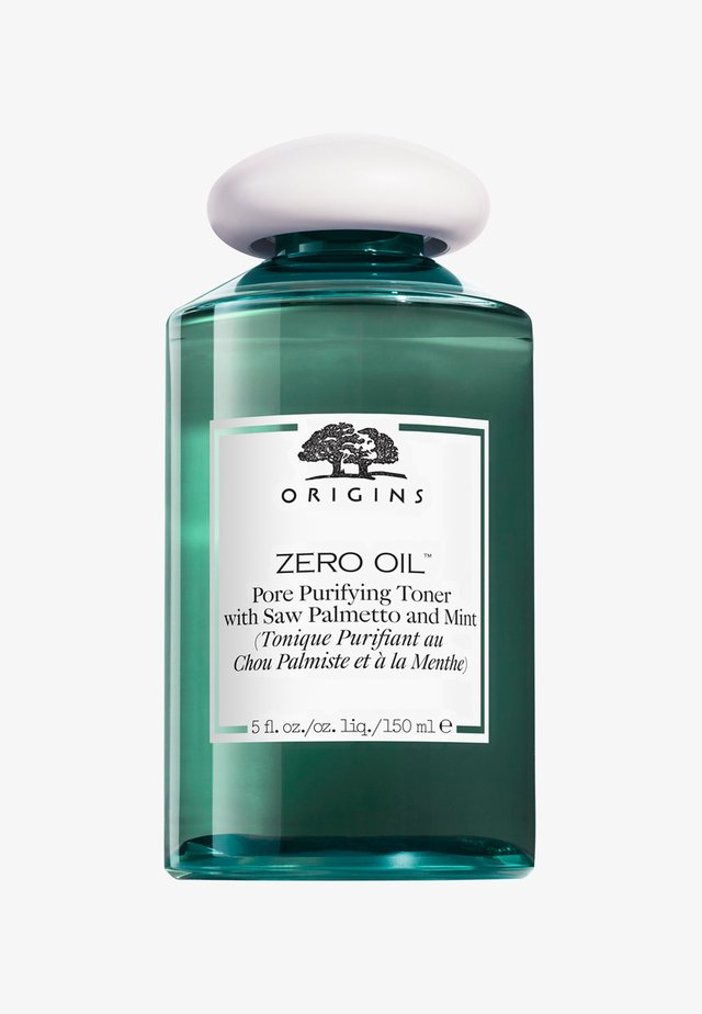 ZERO-OIL PORE PURIFYING TONER WITH SAW PALMETTO AND MINT 150ML - Tonic - -