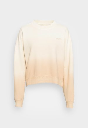 ROUND NECK MODERN COPPED FIT - Sweatshirt - multi/natural shades