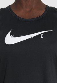 Nike Performance - RUN TANK - Top - black/silver - 4