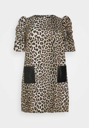 CURVE POCKET - Jersey dress - multi