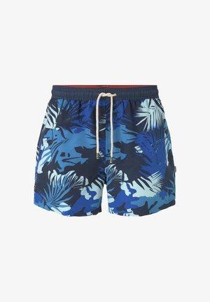 MIT TROPISCHER MUSTERUNG - Swimming shorts - navy/multicolor