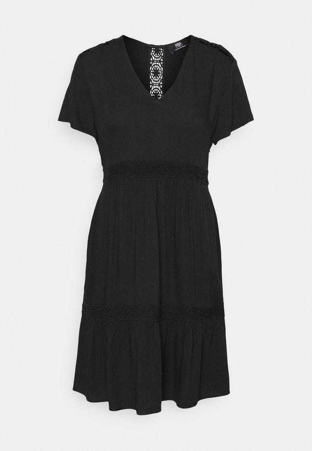 MONA - Day dress - black