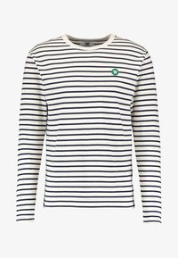 MEL - Top s dlouhým rukávem - off-white/navy stripes