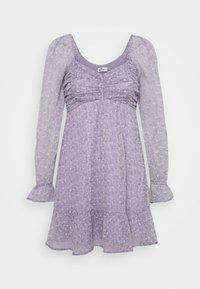 Hollister Co. - SHORT DRESS - Kjole - lavender - 4