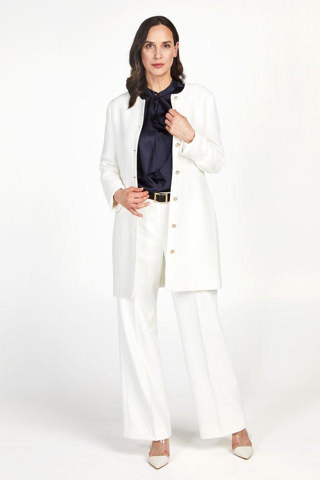 PROMISS APPAREL BLAZER BELLAMI SS20 - Short coat - snow white