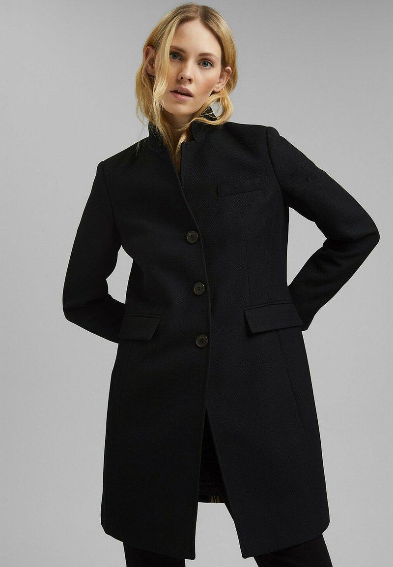 Esprit - Short coat - black