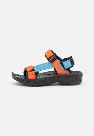ULA RAFT JR - Walking sandals - black/airblue/arabesque