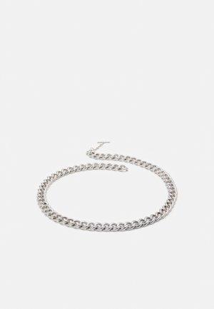 CEINTURE CHAINE AVEC LOGO GRAVE - Pásek - silver-coloured