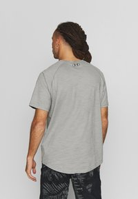 Under Armour - CHARGED - T-shirts basic - gravity green/black - 2