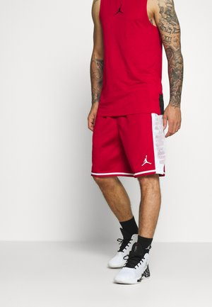 JUMPMAN BBALL SHORT - kurze Sporthose - gym red/white