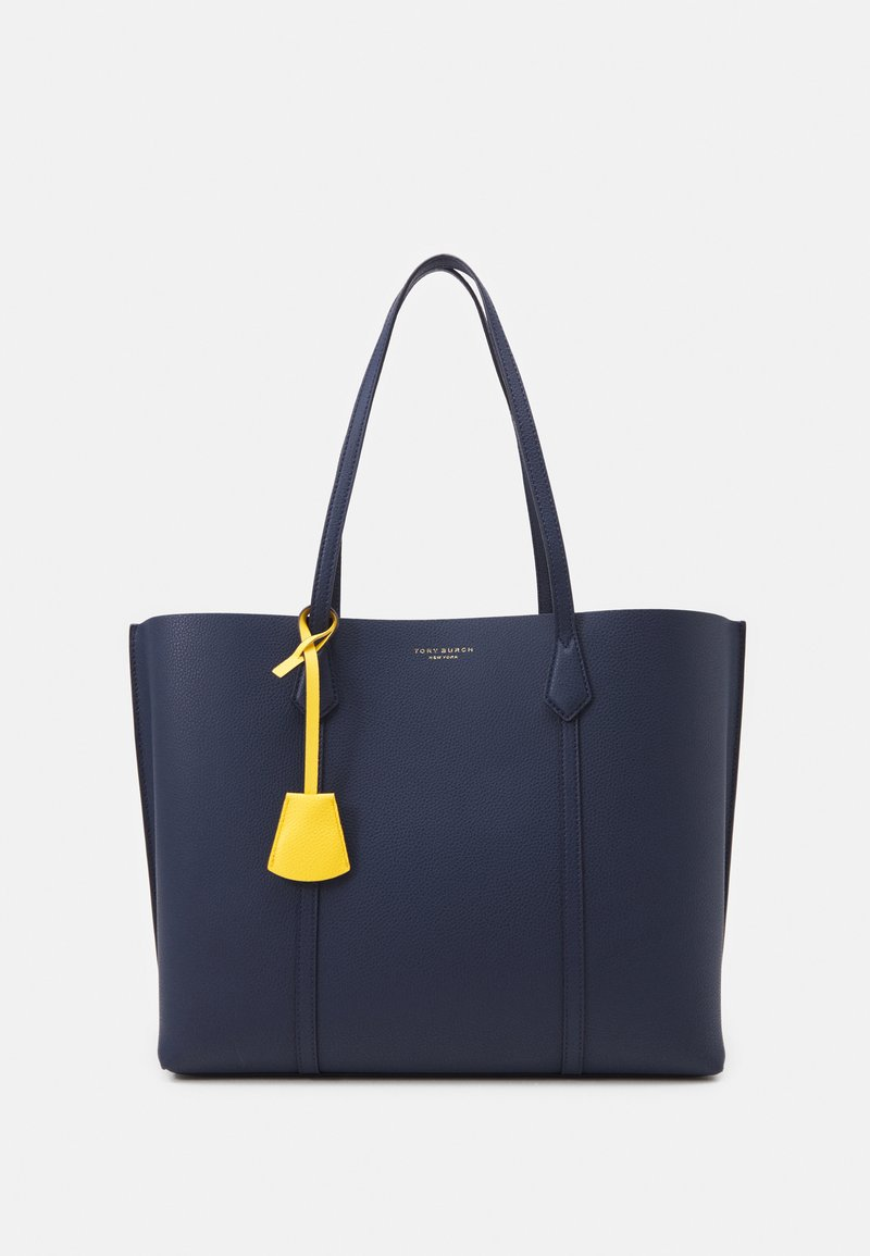 Tory Burch - PERRY TRIPLE COMPARTMENT TOTE - Shopping bag - royal navy