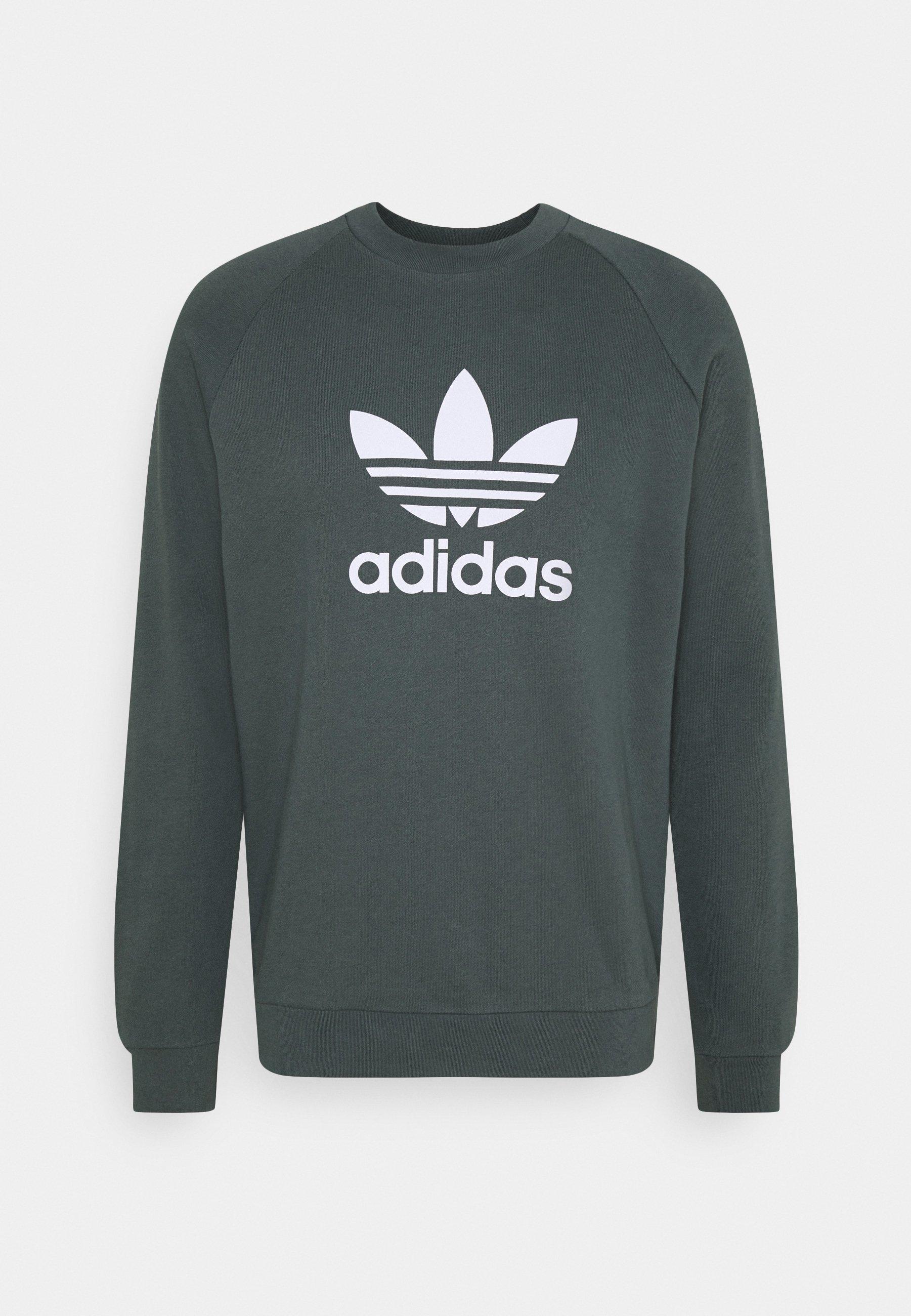 vóleibol realce Caramelo  adidas Originals TREFOIL CREW UNISEX - Sweatshirt - bluoxi/light blue -  Zalando.co.uk