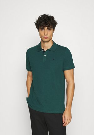 BASIC WITH CONTRAST - Poloshirts - stroke green