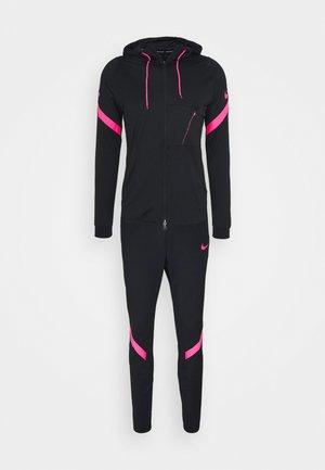 DRY STRIKE SUIT - Tracksuit - black/hyper pink