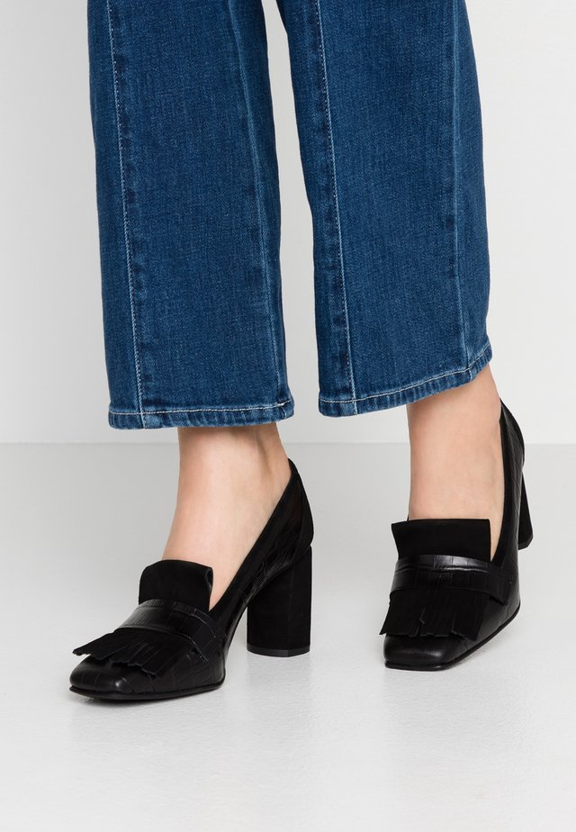 BIMBA - Pumps - monterrey black/black