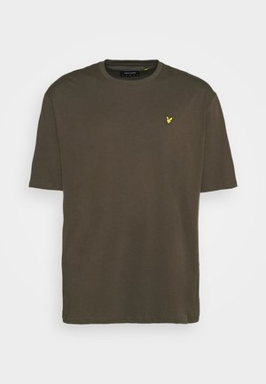 CREW NECK - T-shirt - bas - trek green