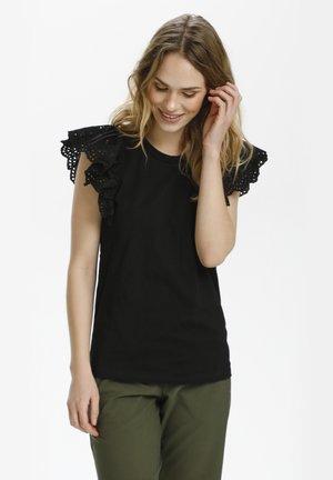 KALELIA - T-shirt con stampa - black deep