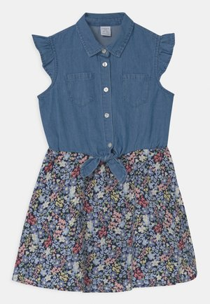 MINI BODIL - Denim dress - navy
