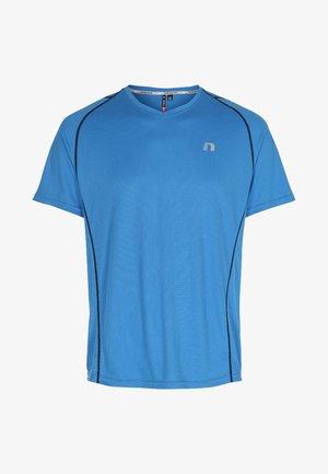 BASE COOLSKIN - Print T-shirt - blue