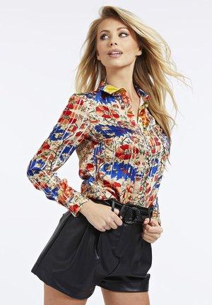 SATIN - Shirt - gemustert multicolor