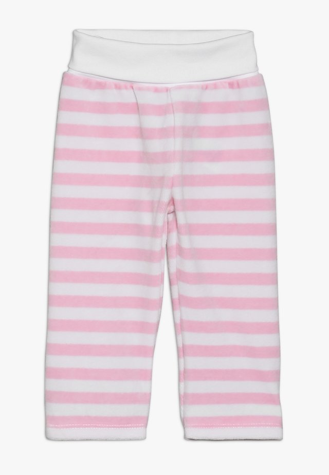 STRIPE JOGGERS BABY - Tygbyxor - barely pink