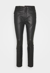 Pieszak - NEW ALEX PANT - Leather trousers - black - 0