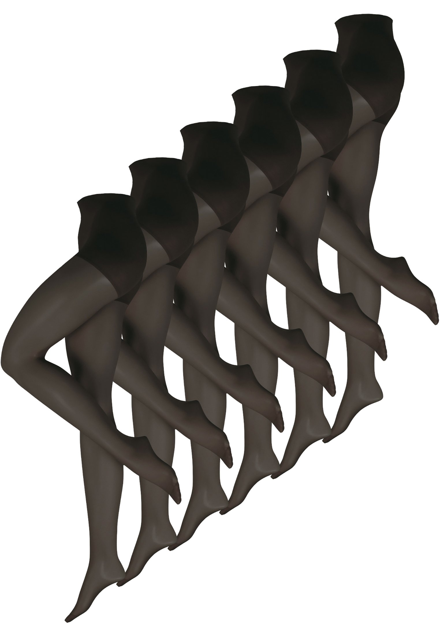 Femme 6-PACK  - Collants