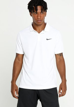 DRY TEAM - Sports shirt - white/black