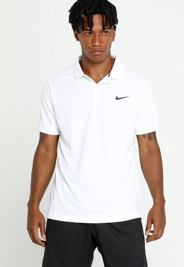 DRY TEAM - Koszulka sportowa - white/black