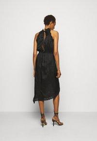 Pinko - AMABILE ABITO HABUTAI RICAMATO - Cocktail dress / Party dress - black - 2