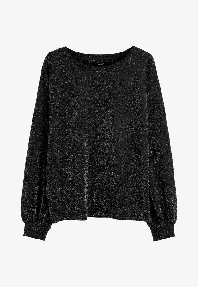 T-shirt à manches longues - metallic black