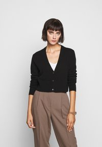 FTC Cashmere - CARDIGAN - Cardigan - moonless night - 0