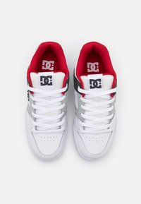 DC Shoes - PURE - Obuwie deskorolkowe - white/grey/red - 3